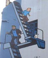 Tintin part à l'aventure